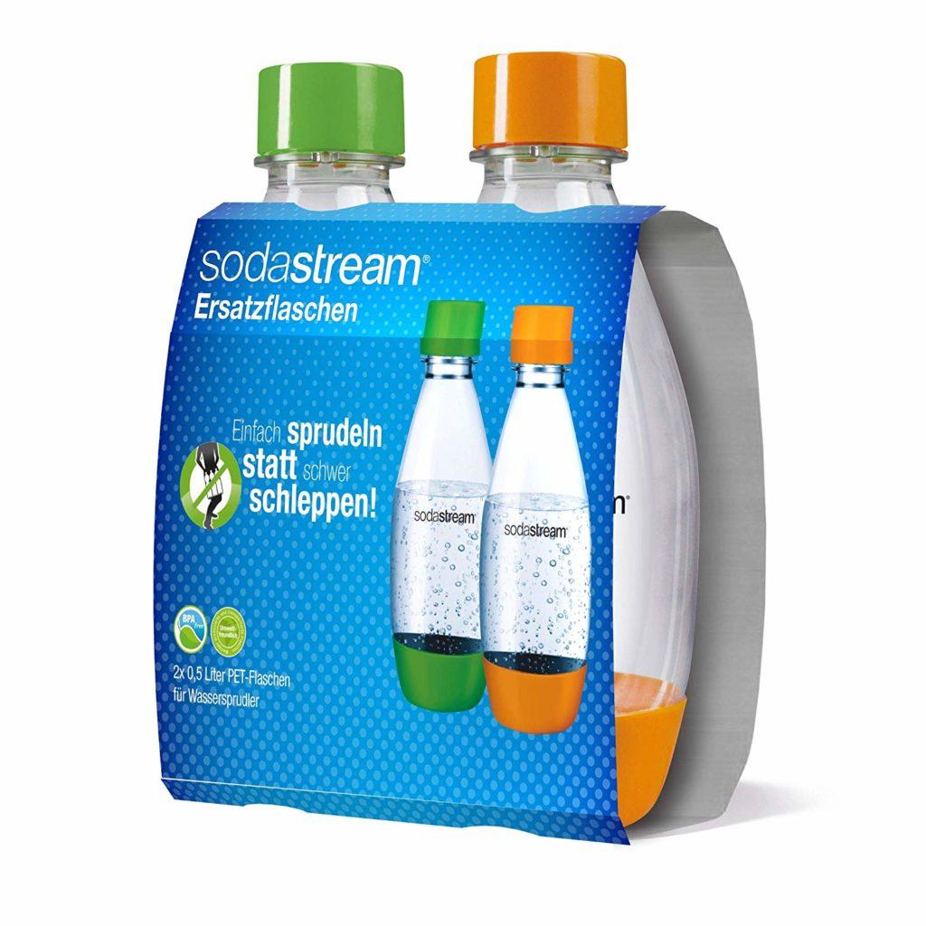 SodaStream bunte Flaschen