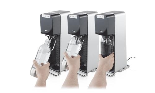Snap-on verschluss für sodastream power