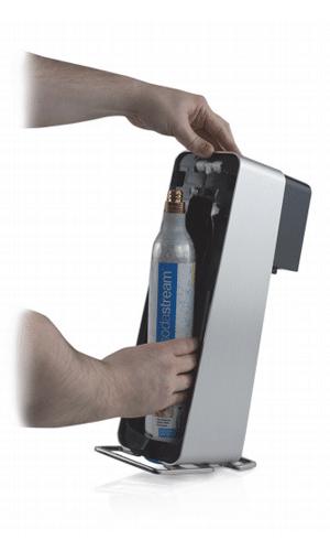 Sodastream Power zylinder eindrehen