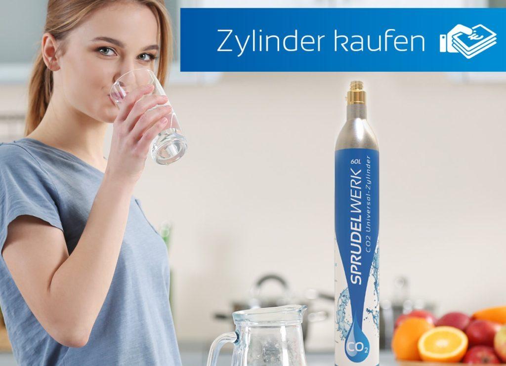 CO2-Zylinder für SodaStream kaufen