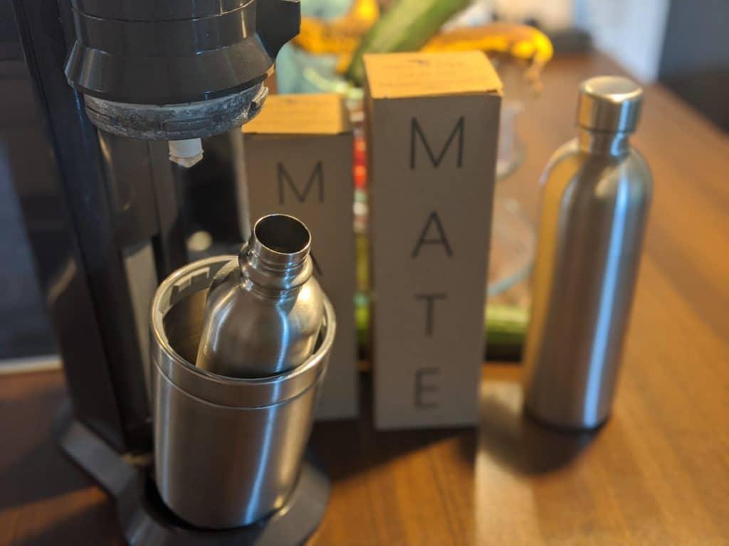 Edelstahlflaschen für den SodaStream