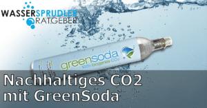 Nachhaltiges biogenes co2 greensoda